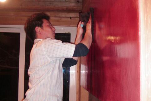 個人邸_2008年 旭川市 J邸 ストローベイルハウス 施工写真