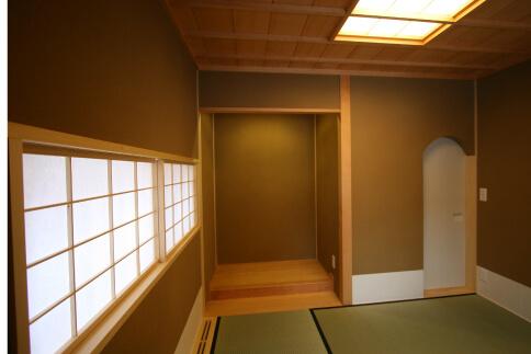2012年 札幌市 近代茶室 施工写真