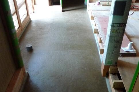 2014年 富良野市 K邸 ストローベイルハウス 施工写真