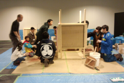 ワークショップ_2014年 札幌市 チカホ ワークショップ